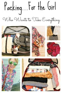 Packing Tips For The Girl Who Wants To Take Everything