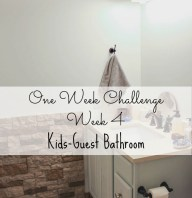 One Room Challenge Week Four- New Paint Color