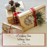 Farmhouse Glam Gift Wrapping Ideas for Christmas