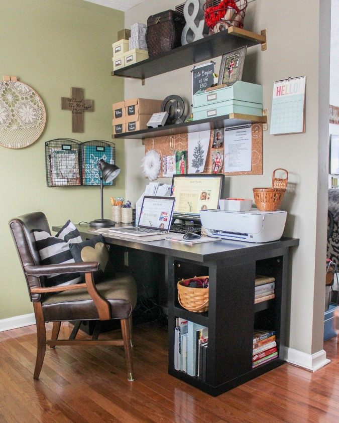 Ideas and Incentive to Organize Your Home- Craft/Office Space