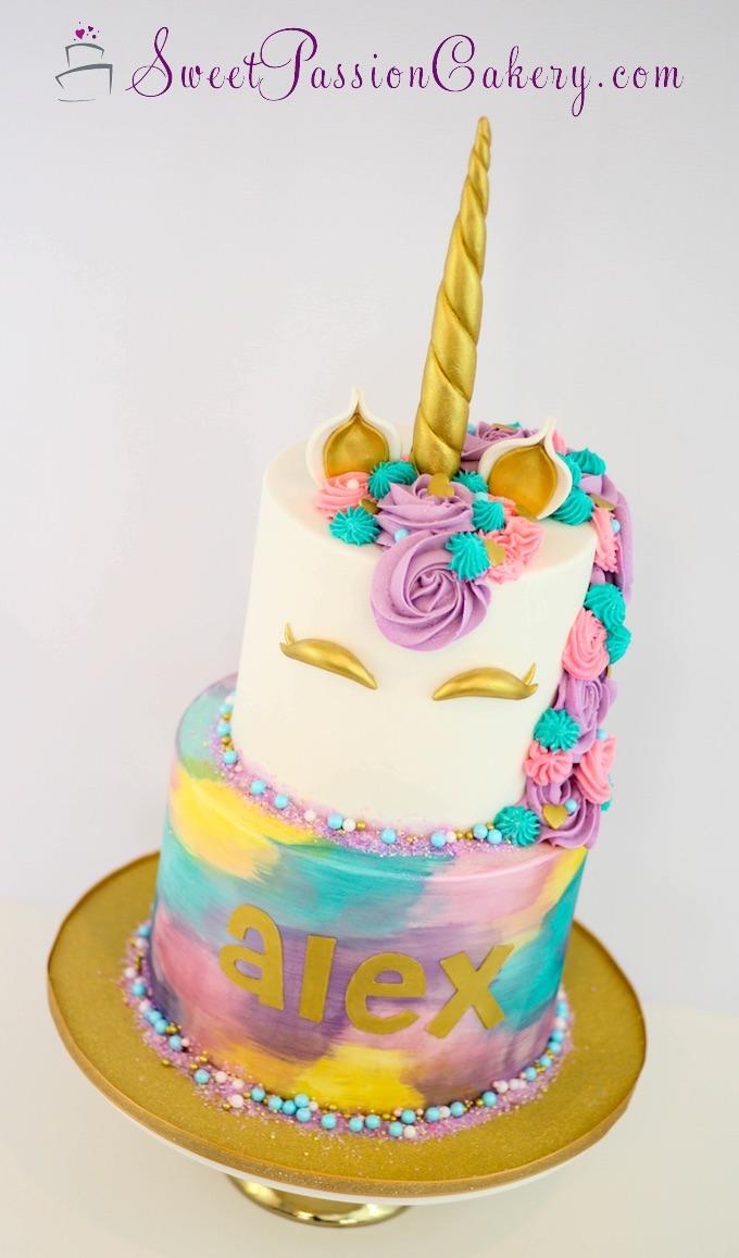 Unicorn Cake Sweet Passion Cakery