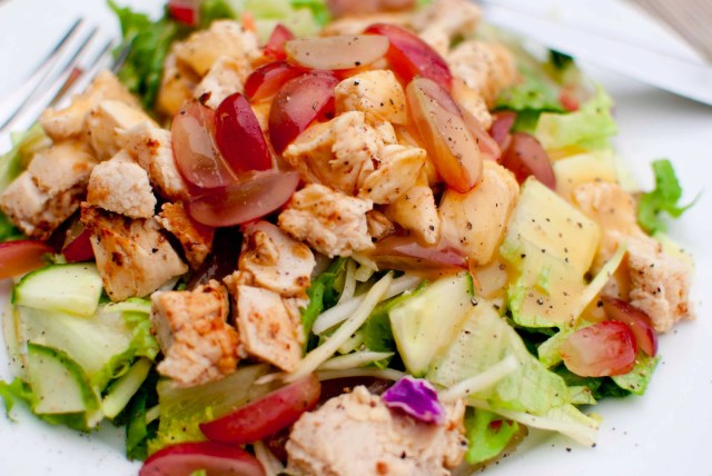 easy chicken paleo salad