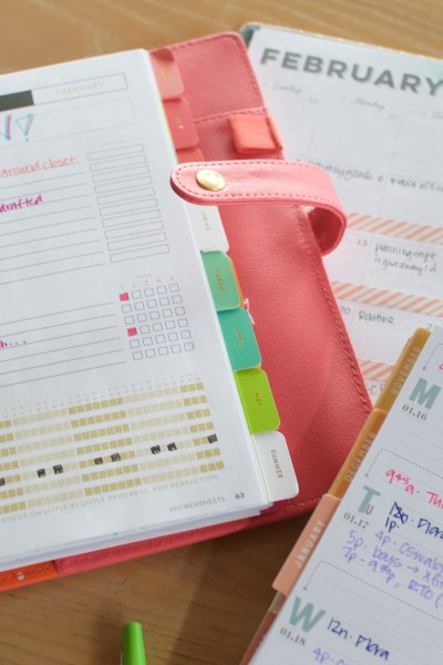 Planners + Powersheets