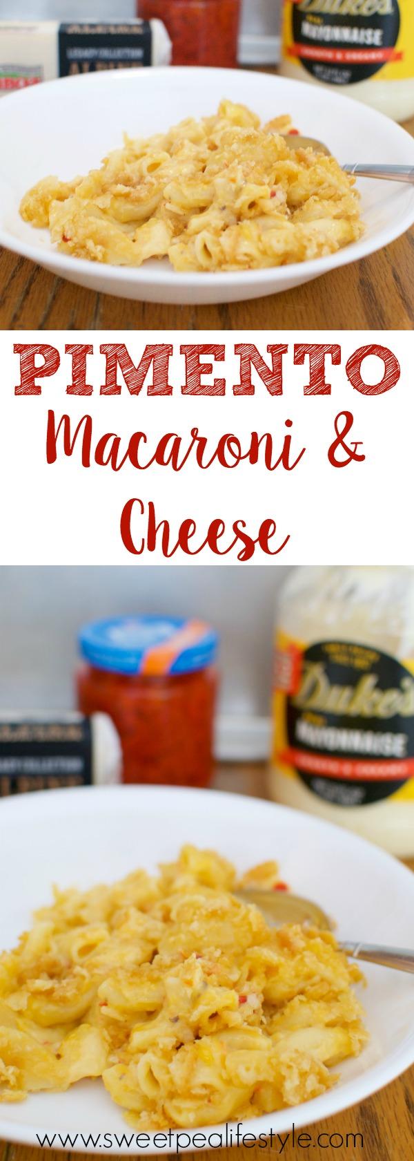 pimento macaroni and cheese casserole