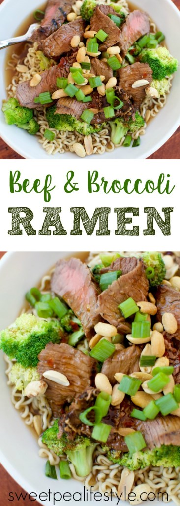 beef and broccoli ramen noodles
