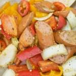 Roasted Sausage & Pepper Skillet Supper