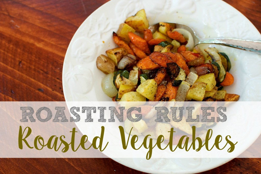 roasted vegetables how to roast