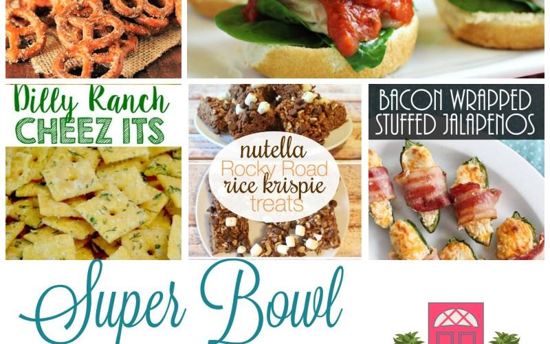 Super Bowl Party Ideas + HM #168