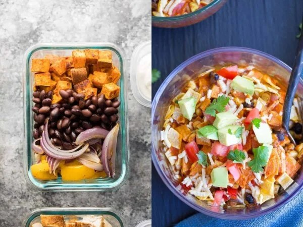 59 vegan meal prep recipes including vegan work lunch ideas that will have you covered for convenient plant-based breakfasts, lunches, dinners and snacks!