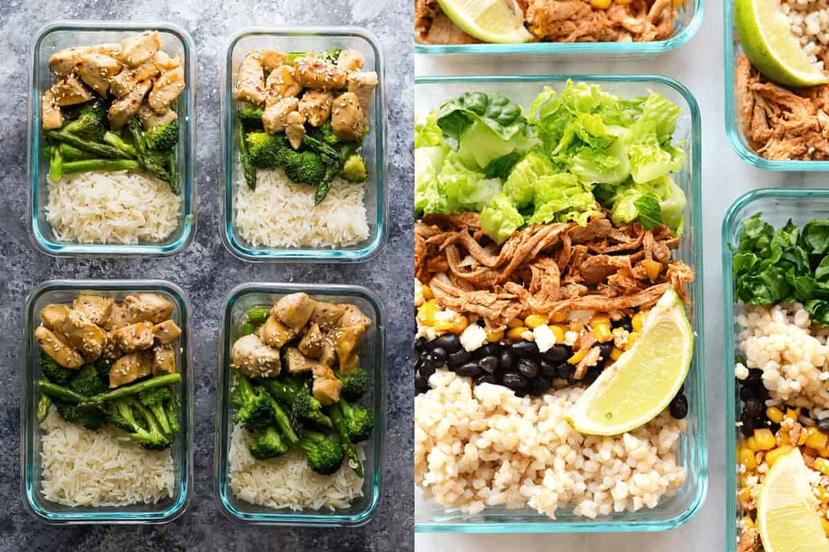 46 Easy Lunch Meal Prep Ideas