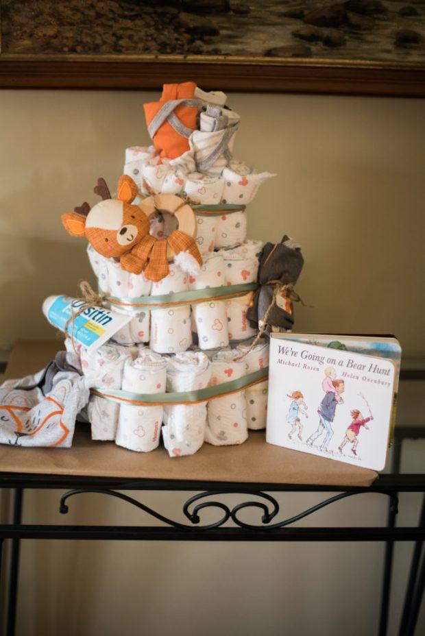 diaper cake rustychicdecor