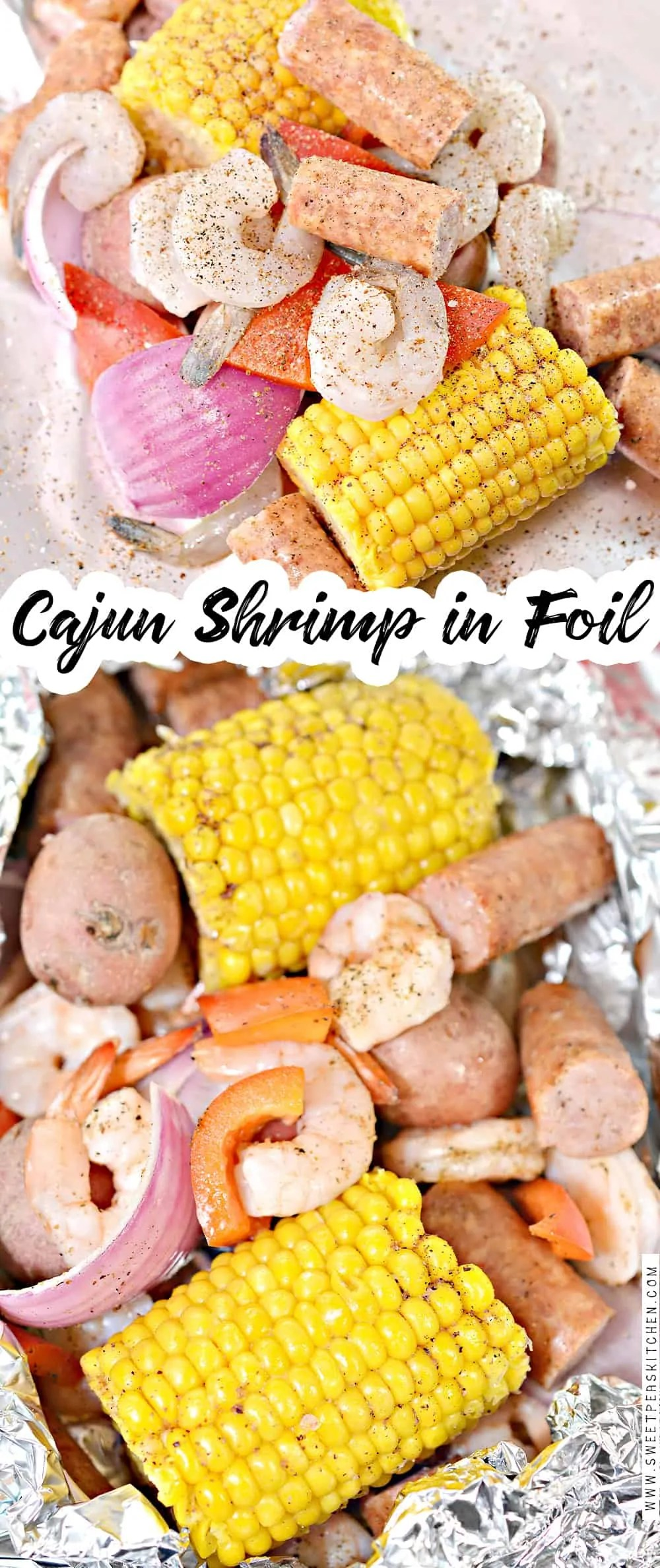 Cajun Shrimp in Foil