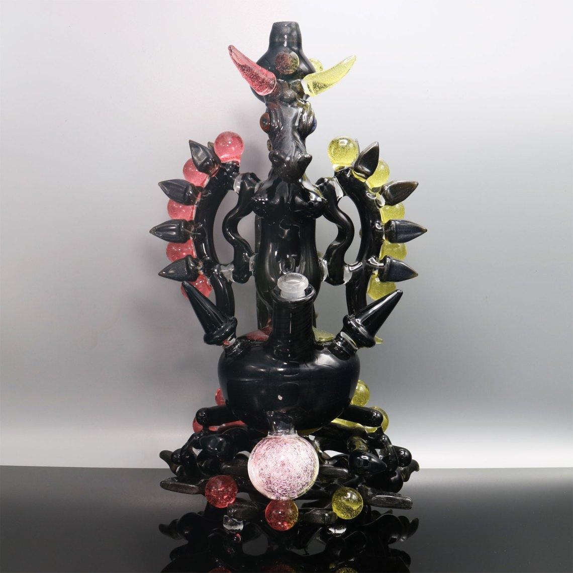 Kiebler – CFL Dragon Wizardess Functional Sculpture