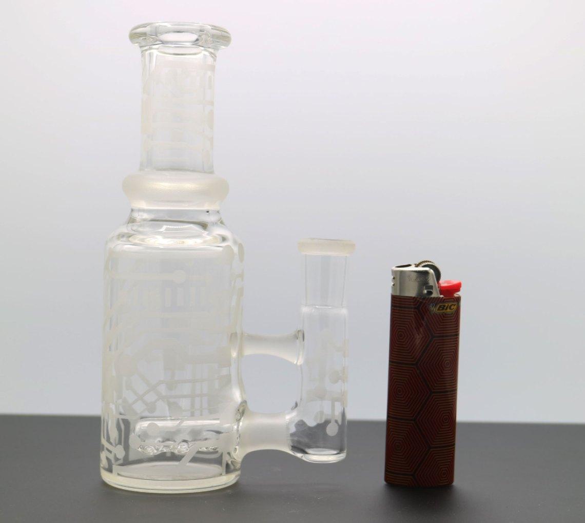 Poison Glass – Custom Sandblasted Bottle