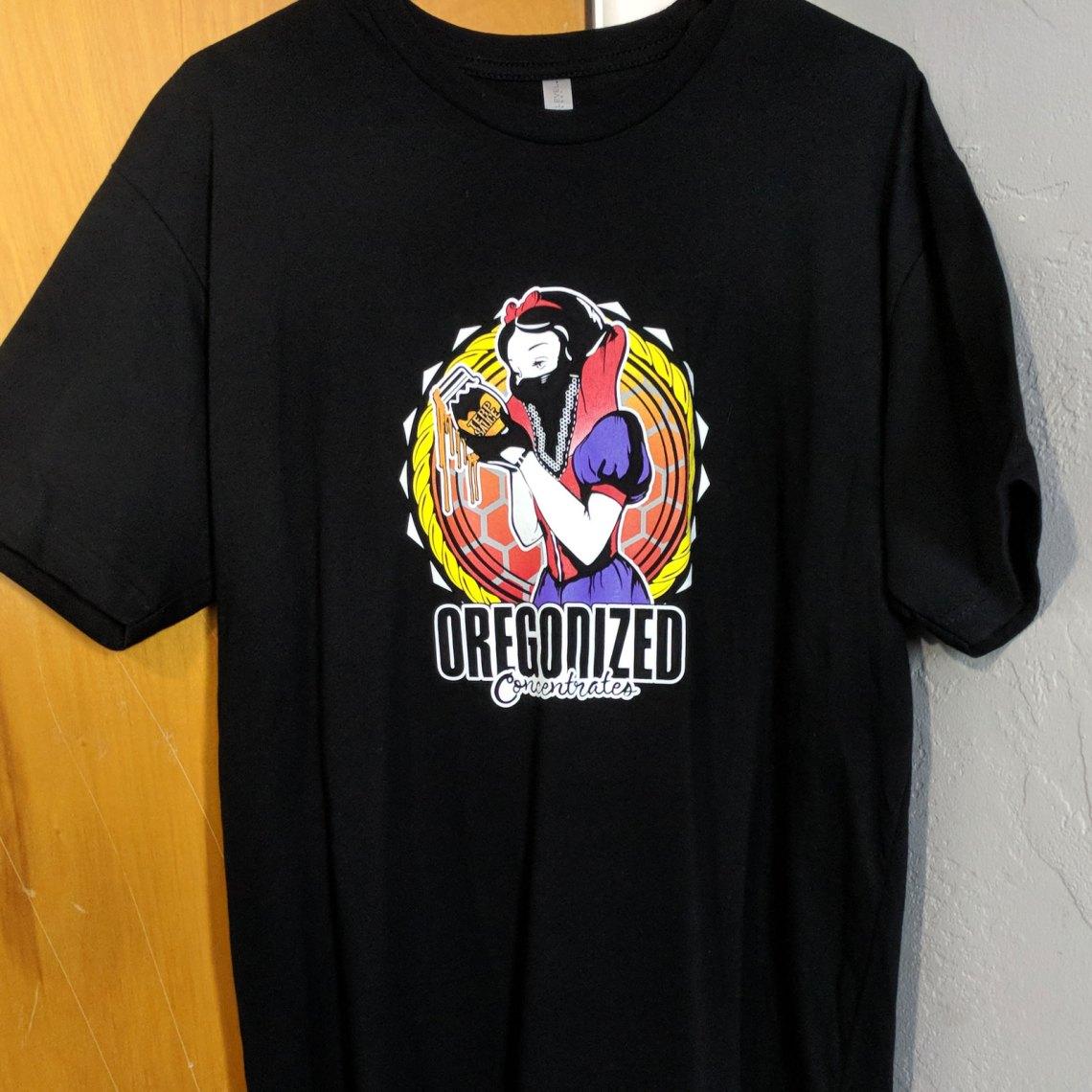 Oregonized Apparel Sauce Princess Tshirt