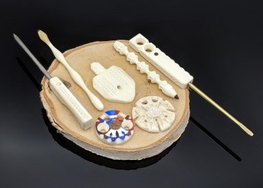Handcarved Bone Art from Doux