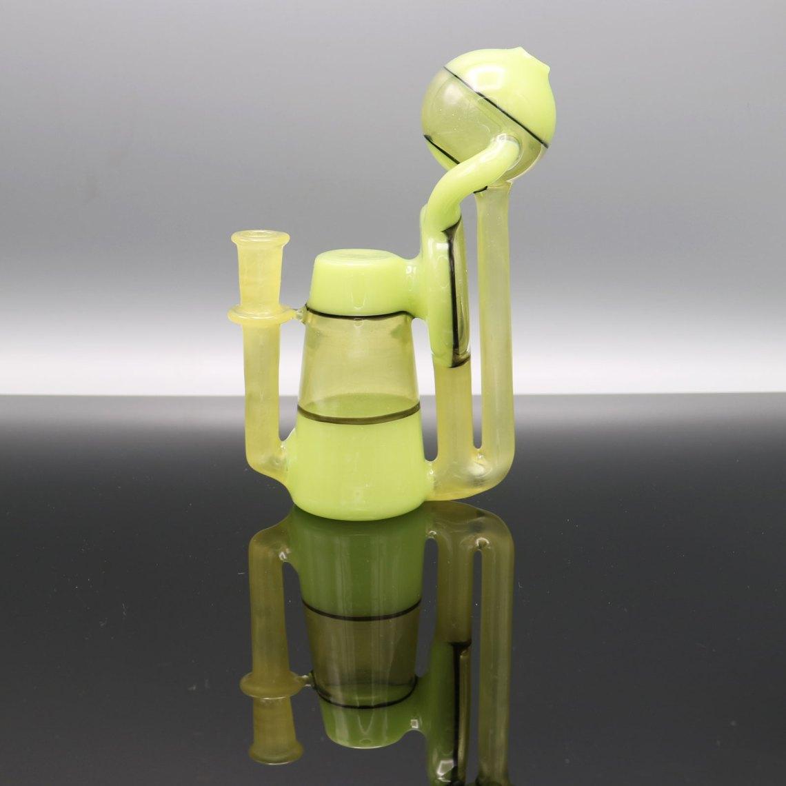Unlmtd Glass – Yoshi and Pastel Serum CFL Geocycler