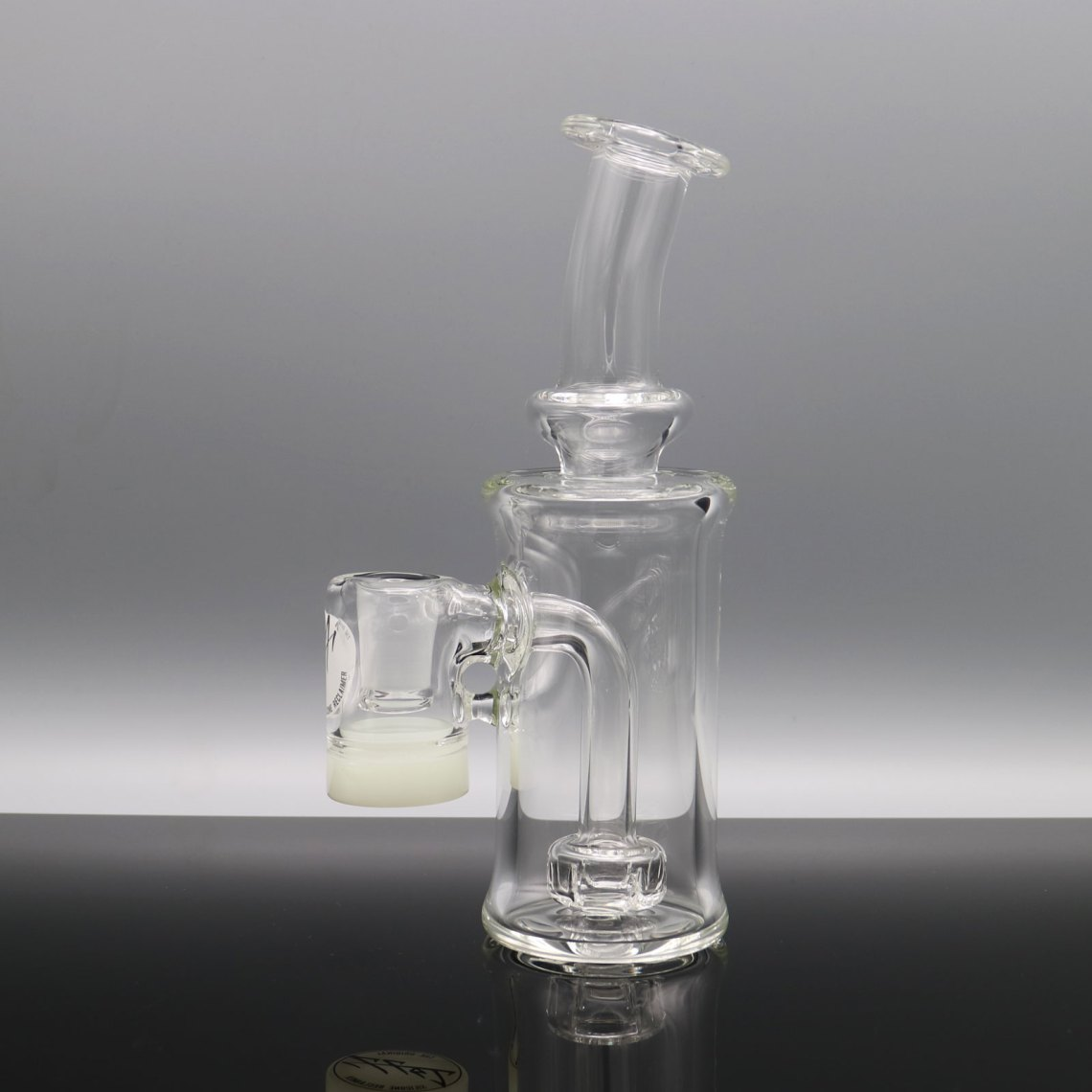 Jeff Patterson – Clear Small Silicone Reclaimer Rig