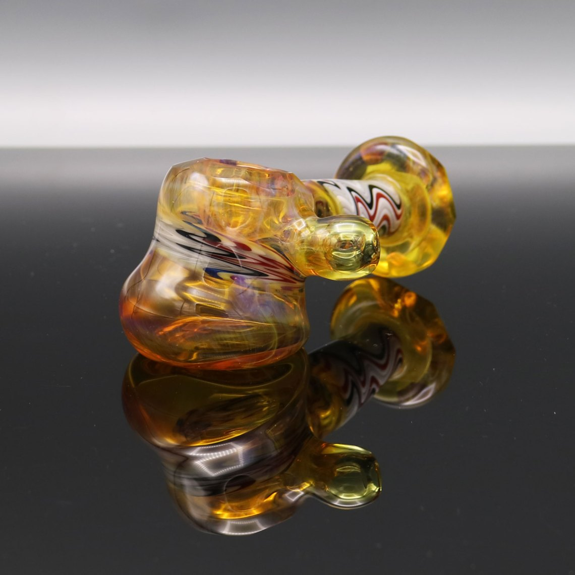 Chappell Glass – Faceted Yellow Hammer