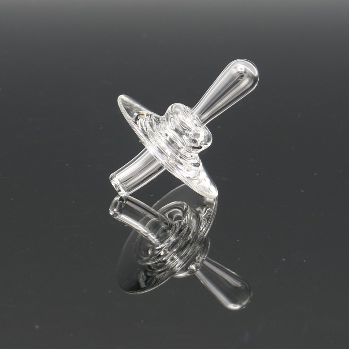 Zach Brown Glass – V2 Directional Clear Cap