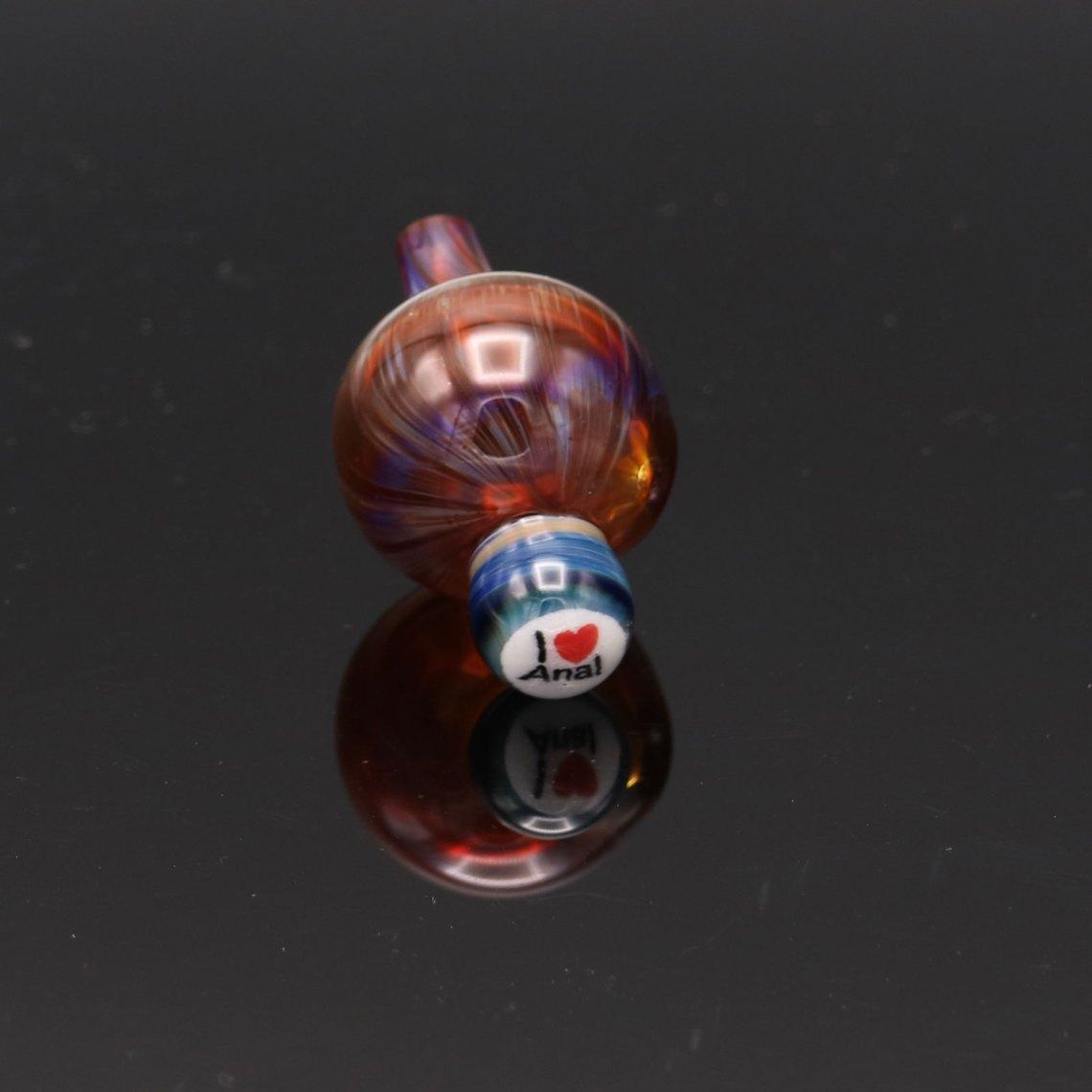 Firefox Glass – I Heart Anal Bubblecap 2