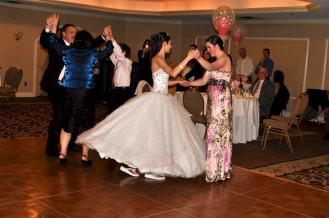 Dancing the night away at my Sweet 16!