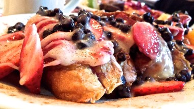 Fruity French toast from Vermont Apple Pie Co.