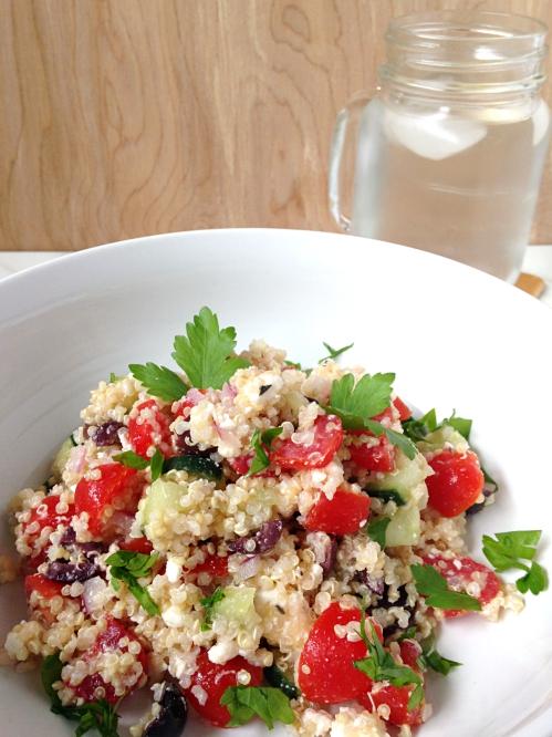mediterranean quinoa salad.5