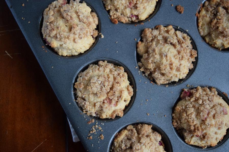 rhubarb muffins.2