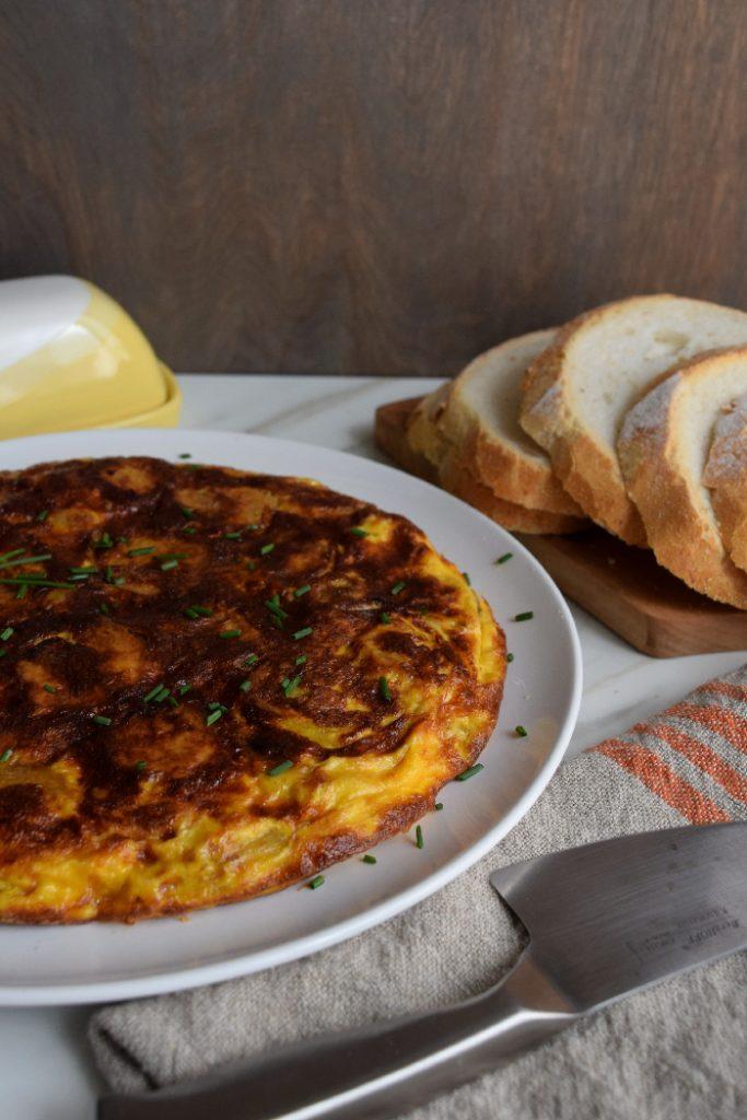 tortilla espanola or spanish omellete