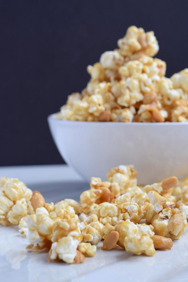Classic caramel popcorn #easy #homemadesnack