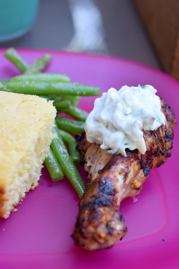 Grilled Tandoori Style Chicken Drumsticks.#grill #easy