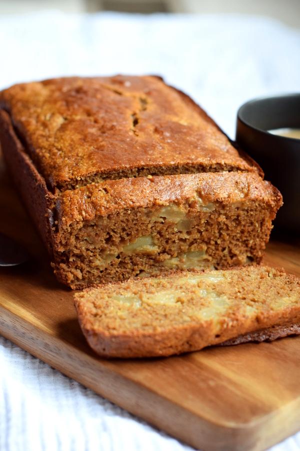 Whole Wheat Pear Bread