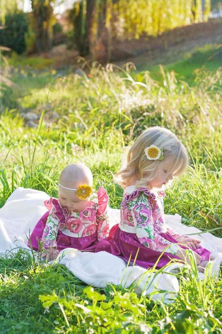 Isla Knit Dress Simple Life Pattern Company PDF Sewing Pattern Art Gallery Fabric