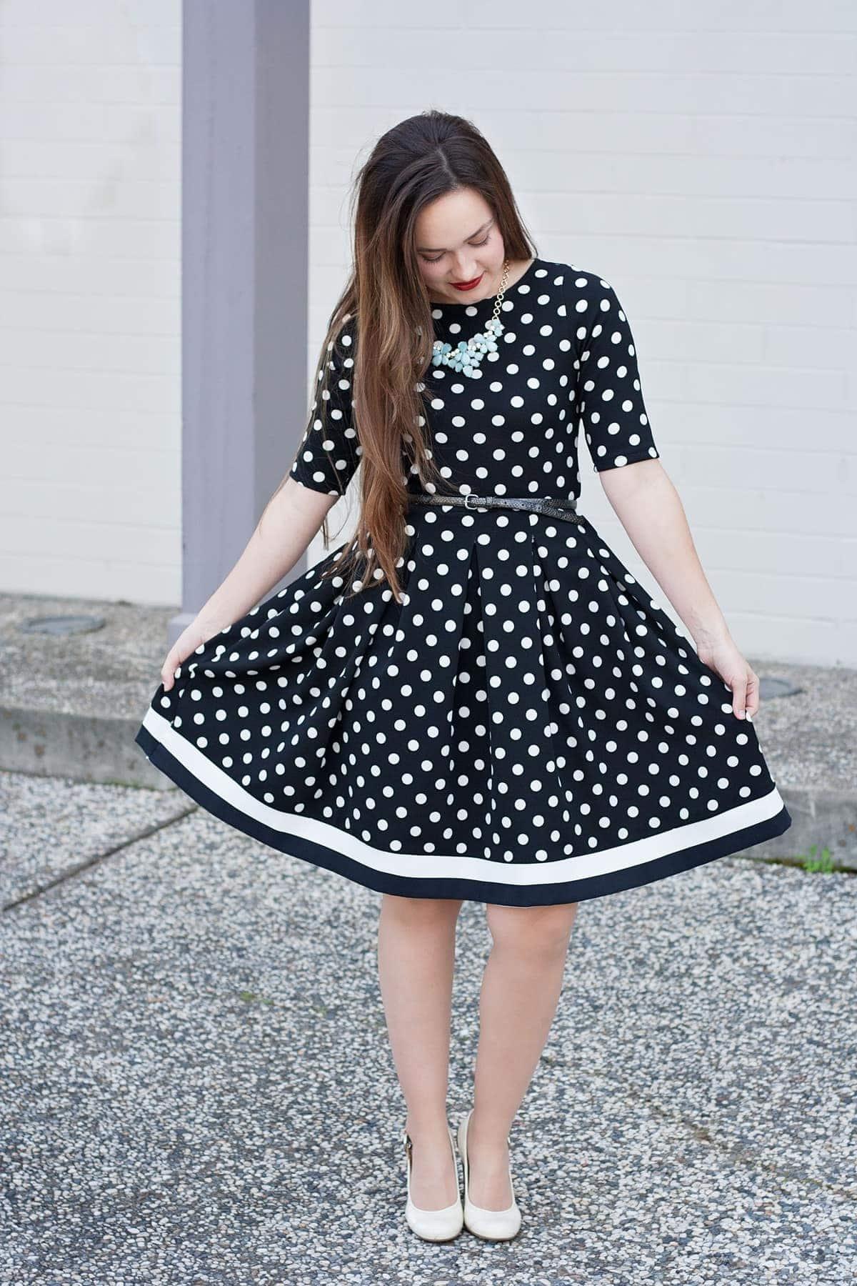 7bae6d66 Love Notions Tessa Sheath Dress and Sybill Illusion Skirt Style Maker  Fabrics PDF Pattern