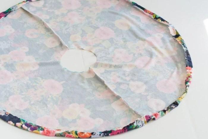 How to easily hem a circle skirt