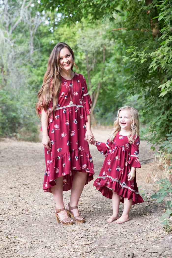Mommy and Me PDF Sewing Pattern Dress