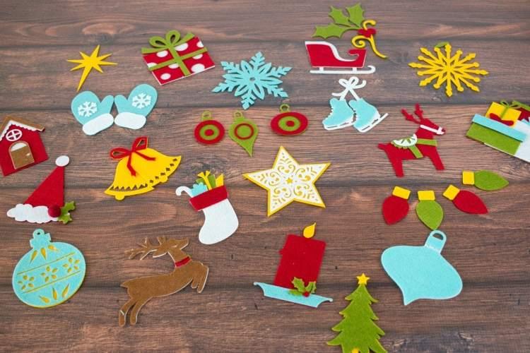 Christmas Advent Calendar Tutorial
