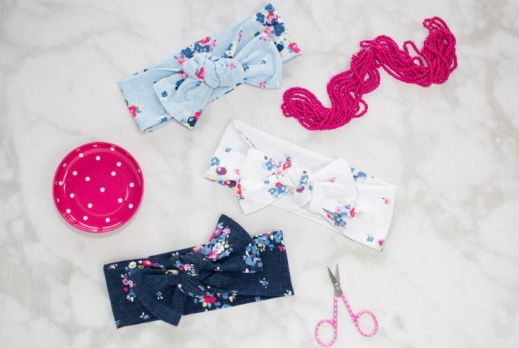 Top Knot Headwrap sewing tutorial