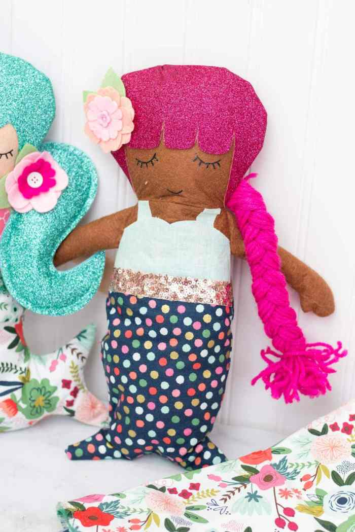 How to Sew a Mermaid Doll