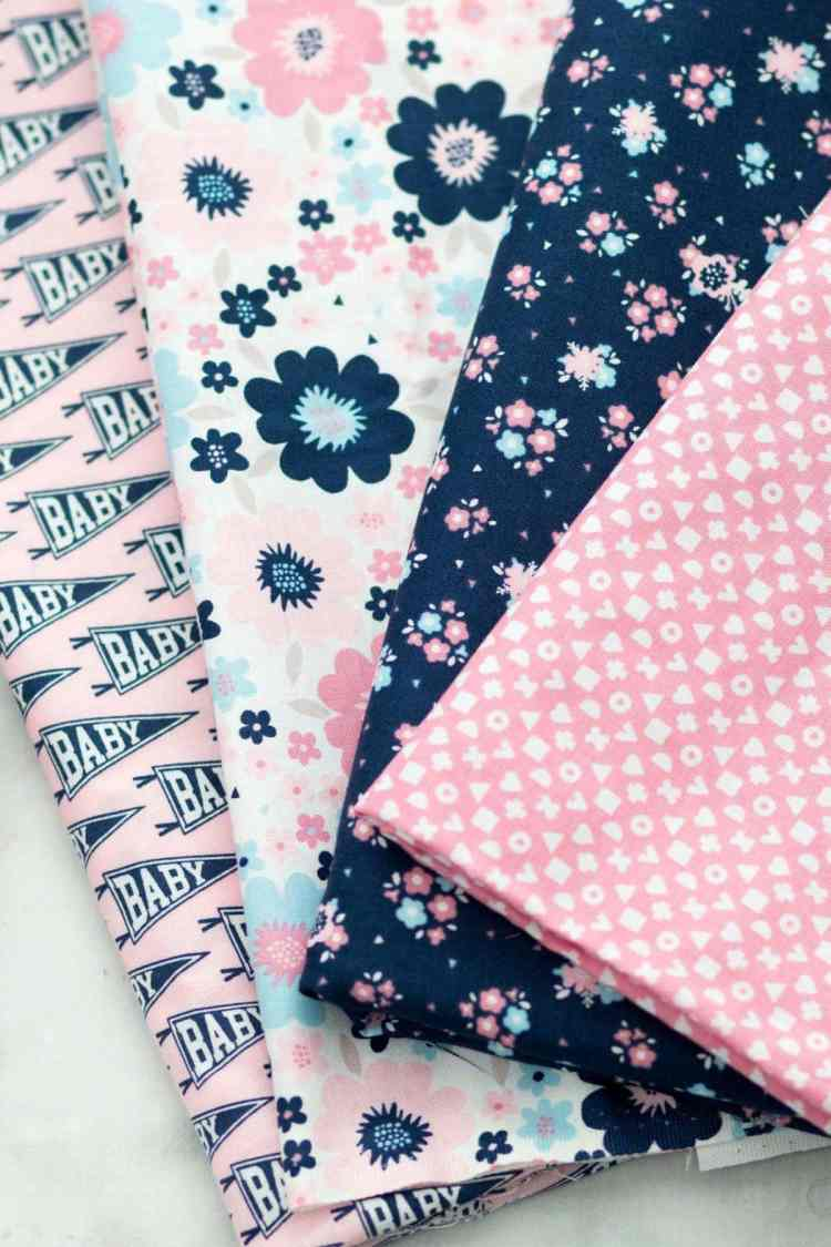 Hello Baby Christopher Thompson Riley Blake Fabric The Tattooed Quilter