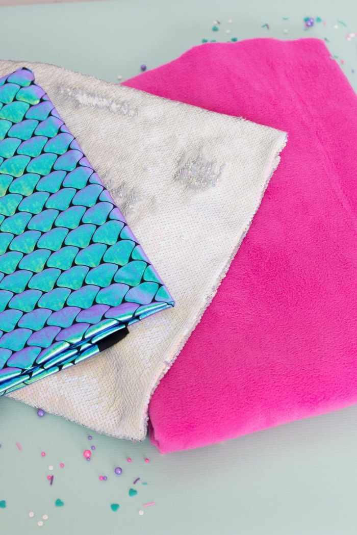 Mermaid Tail Blanket Sewing Tutorial Joann Sweet Red Poppy