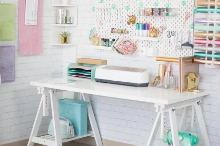 Free Cricut Craft Room: Cricut Craft And Sewing Room Organization Hacks