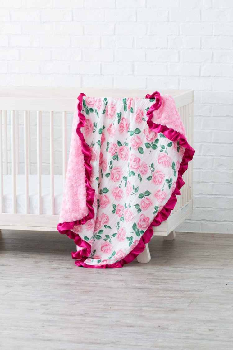 Ruffled Baby Blanket And Lovey Sewing Tutorial Shannon Fabrics