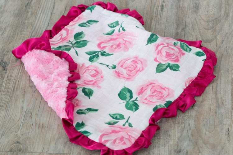 How to Sew a Lovey Baby Blanket