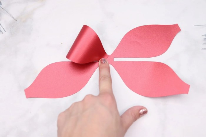 Double Layered Bow Cut File