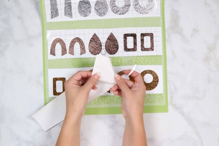 How to Make Leather Earrings with a Cricut Machine - Sweet