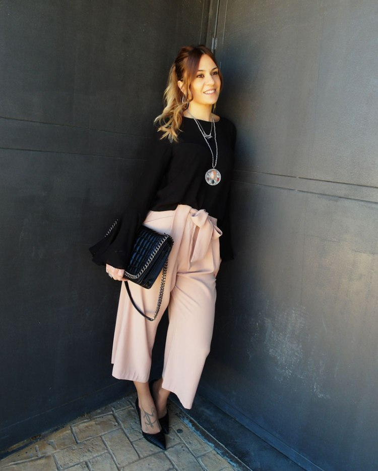 Culottes rosas Sweetrendy