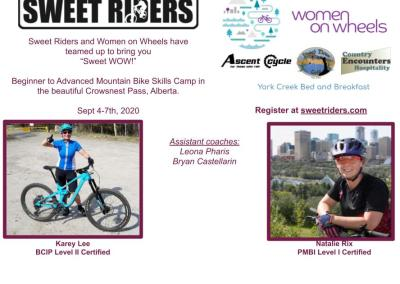 WOMEN'S SWEET WOW MOUNTAIN BIKE CAMP