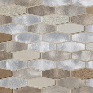 montage dune elongated hexagon glass
